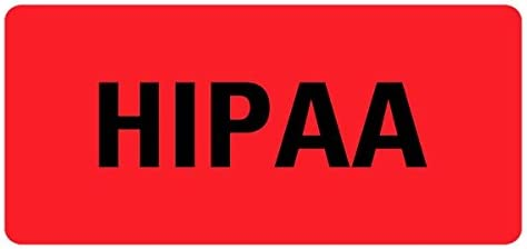 HIPAA Medical Records Houston Mall OFFicial site LV-MRL10 Labels