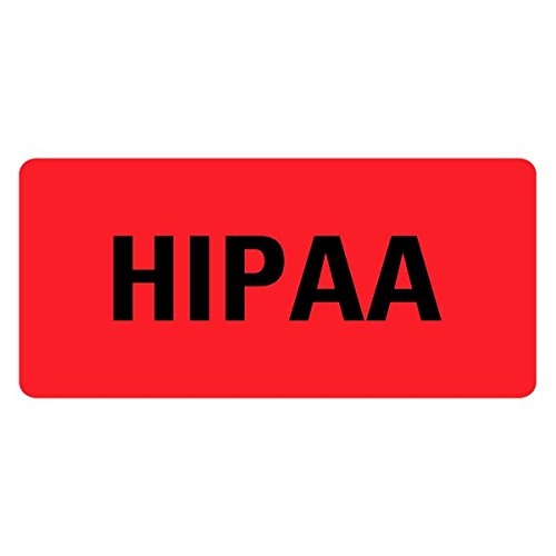 HIPAA Medical Records Labels LV-MRL10