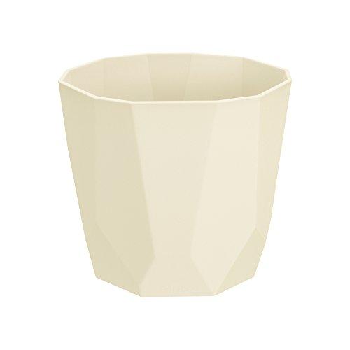 Elho bloempot B.for Rock, oker, 14.1x14.5x12.9 cm, 4201301411800 Flowerpot. 16 cm ivoor