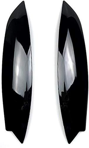 HZHAOWEI Augenlider Augenbrauen Für Volkswagen Für Golf 5 MK5 Autoscheinwerfer Augenbrauen Augenlider Aufkleber Zierabdeckung Zubehör Auto Augenlider Zierabdeckung Scheinwerfer Augenbrauen (Co.