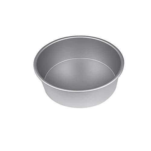 Molde aluminio recto liso para tarta Ø16 cm H6 cm. Varias medidas disponibles. Moldes repostería. Moldes para tartas y bizcochos. Molde aluminio para tartas.