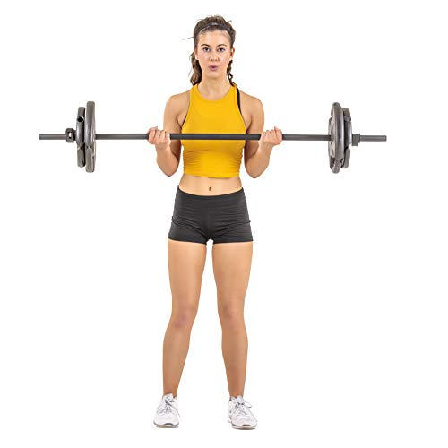 Club Quality 4-Weight Deluxe Barbell Set, 60 lbs (Includes The bar)