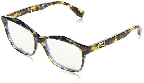 Fendi Brillengestelle FD 0093 0D53 Groß Brillengestelle 54, Mehrfarbig