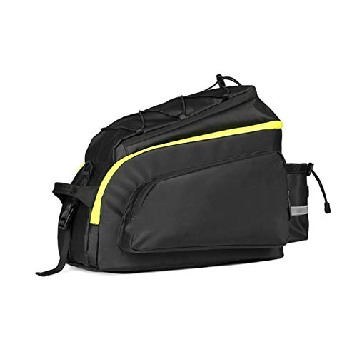 BECCYYLY Bicycle Rear Rack Bagbicycle Bags Bike Saddle Rack Trunk Bags Travel Cycling Luggage Carrier Camera Handbag Waterproof