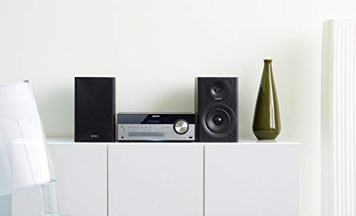 Sony CMT-SBT100B All-in-one Audio System with Wireless Streaming, 50W - Black