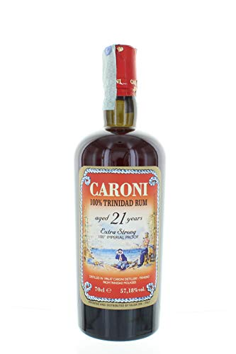 Caroni Rum 100% Trinidad 21 Years 100° Proof Extra Strong Cl 70