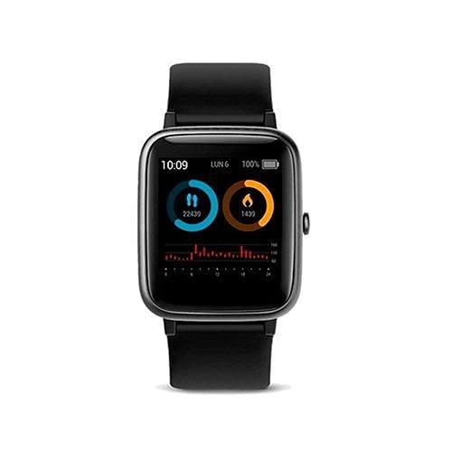SPC Smartee Boost - Smartwacth con GPS, Waterproof 5ATM, monitoriza hasta 15 Deportes y autonomía de hasta 12 días Color Negro