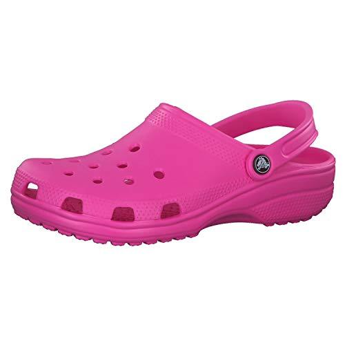 Crocs Classic Clog, Zuecos Unisex Adulto, Rosa (Electric Pink), 37/38 EU