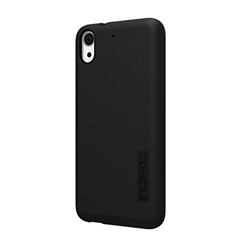 Incipio Protective, Impact-Resistant DualPro Case for HTC Desire 626/626s-Black/Black