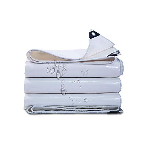 MTYLX Lona Multiusos para Exteriores, Carpa Multiusos Impermeable de Lona con Arandelas de Metal Cubierta de Tierra para Acampar de Pesca 350G / M²,una,Los 5X8M