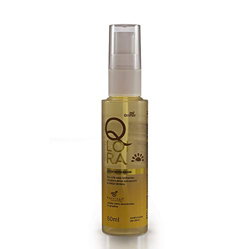 QLoira Sérum Restaurador, Griffus Cosméticos, Multicor, 60 ml