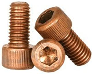 Silicon Bronze Hex Cap Screw 1//4-20 x 1-3//4 25//PCS