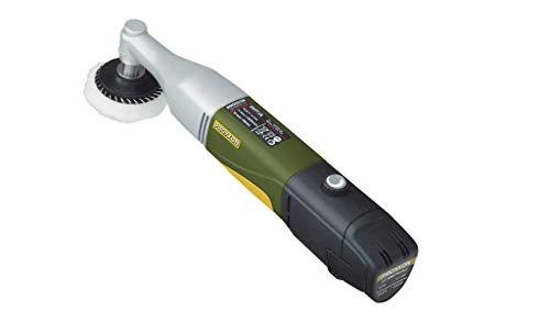 Proxxon 29822 Akku-Winkelpolierer (Poliermaschine) -1.100-2.600 U/min-Reinigen, Polieren und Entrosten