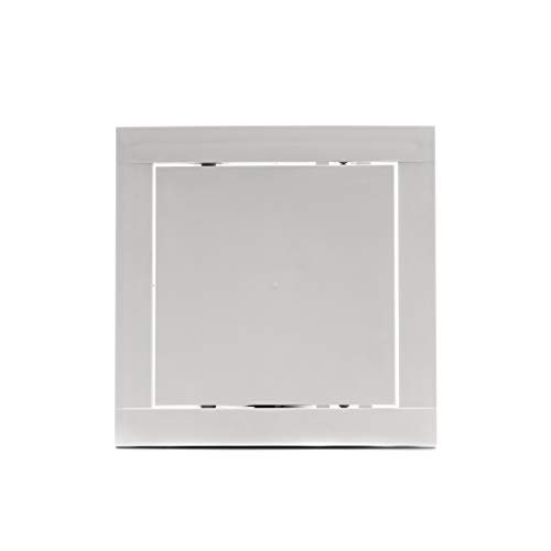 Vent Systems 6x6 Access Panel - Easy Access Doors - ABS Plastic - Access Panel for Drywall, Wall and Ceiling Electrical and Plumbing Service Door Cover