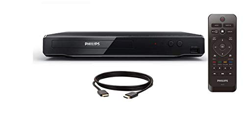 Philips 4K UHD Upconversion Blu-Ray DVD Player BDP3502/F7 6FT HDMI Cable Included (RENEWED)