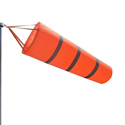 ExeQianming Windsack Regenbogen Orange Windmessung Socken Tasche Outdoor Wettererkennung Werkzeug für Flughafen
