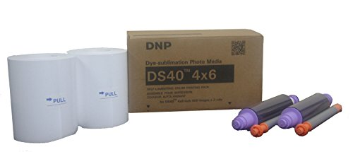 DNP DS 40 - Papel Fotográfico DS Media 10x15 cm 2x 400 (importado)