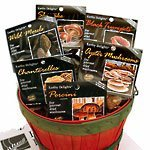 Limited time sale Earthy Delights Dried Mushroom 6 In stock Chanterelle Sampler Varieties