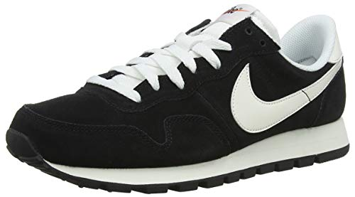 Nike Herren Air Pegasus 83 Ltr Laufschuhe, Schwarz (Black/Summit White/Sail/Safety Orange 001), 44 EU