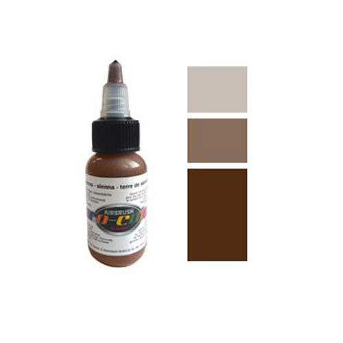Hansa ProColor Acrylfarbe für Airbrush 30ml Flasche / Pumpspender Terre de Sienne