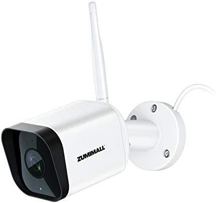 Security Camera Outdoor Zumimall 1080P WiFi Camera with Night Vision Home Security Camera System product image