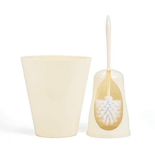 Zhenmu home Escobilla de baño Creativo sin Cubierta de Basura Puede Establecer hogar de Materiales plásticos higiénico Bote de Basura higiénico No Muertos ángulo de Limpieza de artefactos