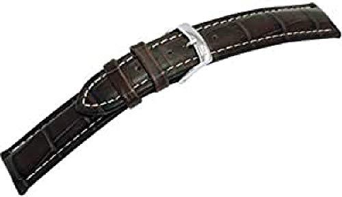 Morellato A01U3252480032CR20 - Correa de reloj para hombre de piel, color marrón
