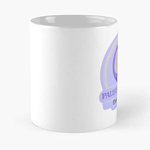 Nuevo juego de animales horizontes fósiles cruce púrpura video mejor taza de café de cerámica de 11 oz personalizar