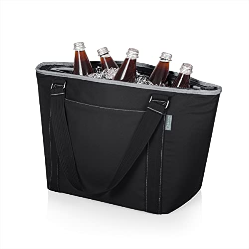 picnic time ice bags ONIVA - a Picnic Time Brand Topanga Insulated Cooler Tote, Black