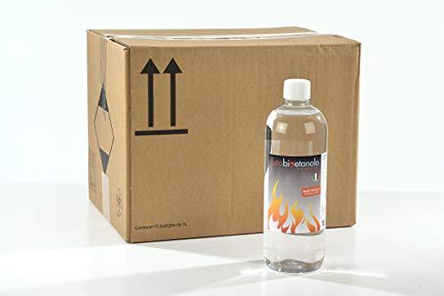 12 litri Bioetanolo Italiano tuttobioetanolo.it (12 bottiglie da 1 litro)