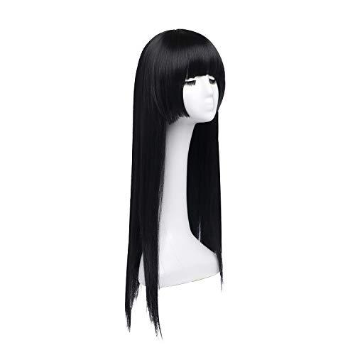 pelucas con flequillo larga online