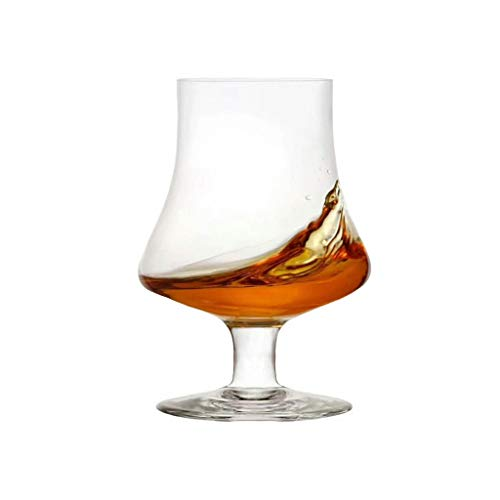 Copa de Brandy Cerrada Cristal de Cristal Estilo Europeo Cata de vinos Copa perfumada Copa tulipán Pies Cortos JXLBB