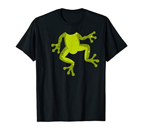 Frog Costume T-Shirt for Halloween Frog Animal Cosplay Tee
