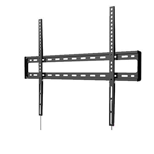 Z·Bling Soporte de Pared para TV de 47-84 Pulgadas(119-213 cm),Fijo Ultra Delgado Soporte TV para LED/LCD/Plasma/Curvada Televisores,VESA Máx.800x600mm Min.100x100mm,Carga Máx. 60 kg,Negro
