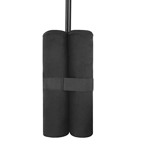 TINAYAUE Canopy Weight Bags Outdoor Pop up Canopy Tent Sand Weight Bags Standard Leg Weights Leg Supports for Sun Shelter Patio Umbrella Camping Tent
