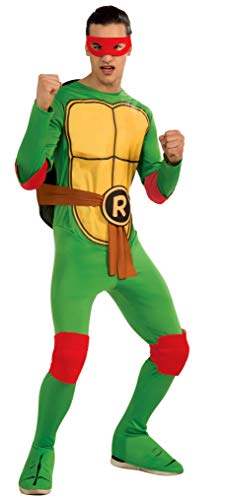 Nickelodeon Ninja Turtles Adult Raphael and Accessories, Green, x-Large Costume