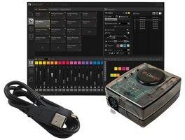 Daslight USB-zu-DMX-Schnittstellen- und Steuerungssoftware (1024 Kanäle) – DVC4 Gold