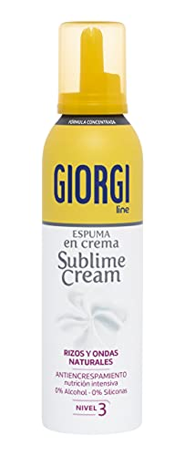 Giorgi Line - Sublime Cream, Espuma en Crema Rizos Naturales