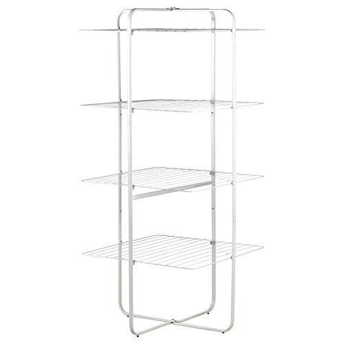IKEA ASIA MULIG Abtropfgestell, 4 Ebenen, für drinnen und draußen, Weiß