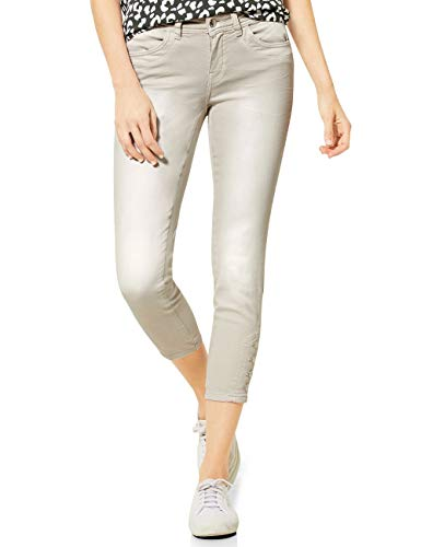 Street One Damen 373174 Jeans, sea Stone Stone Washed, W25/L26