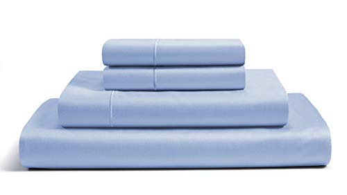 EGYPTIAN COTTON SHEETS QUEEN,800 Thread Count Sheets Queen,100% Egyptian Cotton,Cotton Sheets Queen Size,Deep Pocket Queen Sheets,Sateen Sheets Queen,Queen Sheets Egyptian Cotton,Queen Sheet Set, Blue