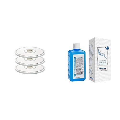 Venta Hygienedisk, Ersatzdisk für LW60T und LPH60 WiFi, 3er Pack + Hygienemittel, 500 ml