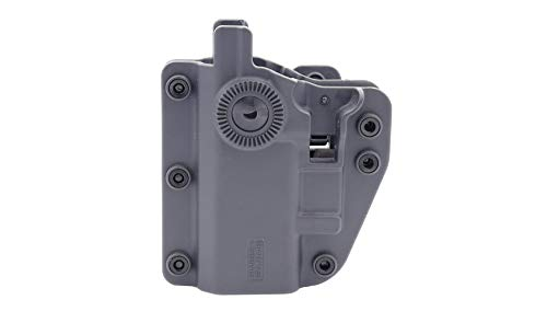 Swiss Arms Universal Adapt-X Holster mit starrer Retention/Farbe: Urban Grey/Beidhändig/um 360 ° drehbar