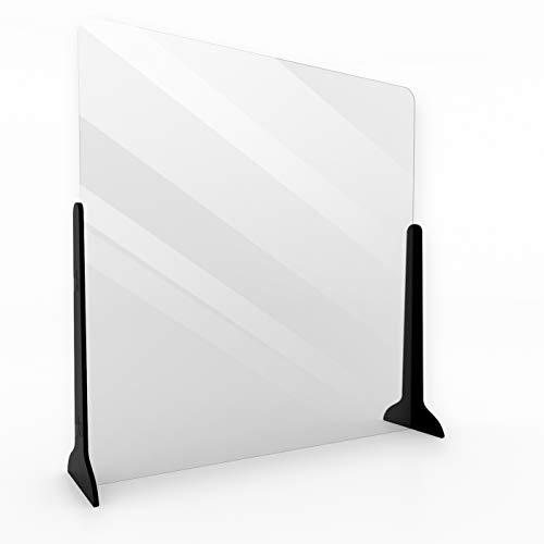 Klemp Schutzwand Transparent 100x100 -...
