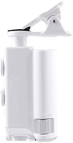 Vergrootglas Mini 150 keer hoog vermogen mobiele telefoon vergrootglas met lamp 100 keer handheld microscoop draagbare HD diamant taille code jade antieke sieraden identificatie vergrootglas kan