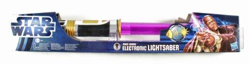 Star Wars Mace Windu Electronic Lightsaber - Movie Version