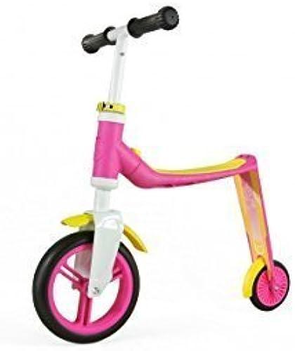 Scoot and Ride Highwaybaby 2in1 Roller und Lauflernrad in Einem (Rosa gelb) by Scoot and Ride