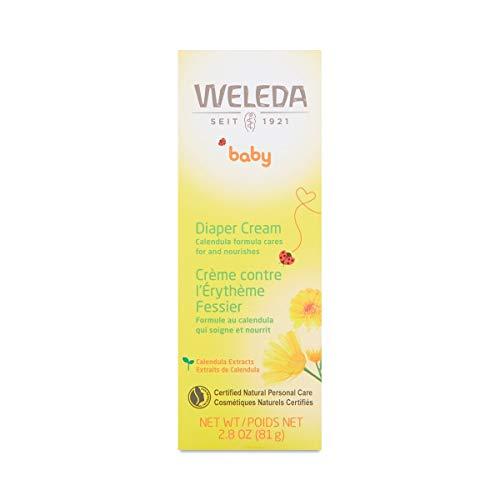 Calendula Babycreme - Weleda (75 ml) - Es wird gesendet mit: kostenlose Probe und eine superbondierte Karte, die Sie als Lesezeichen verwenden können!