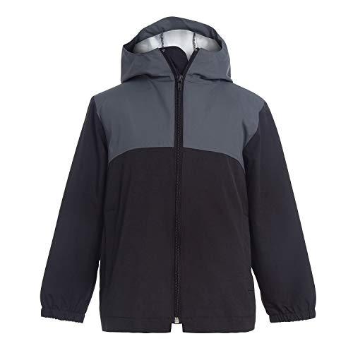 GAZIAR Boys Rain Jacket Kids Lightwight Clssic Windbreaker Girls Waterproof Hooded Coat