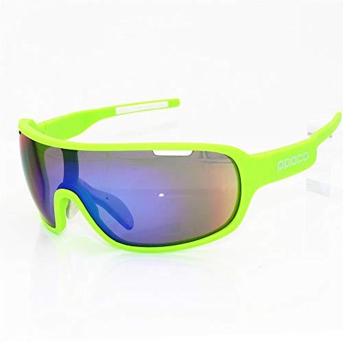 Gafas de Ciclismo Sunglasses 5 Lentes Tr90 Gafas De Esquí G